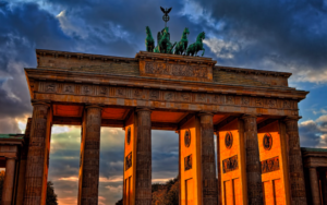 Rejestracja spółek w Niemczech - Brama Brandenburska